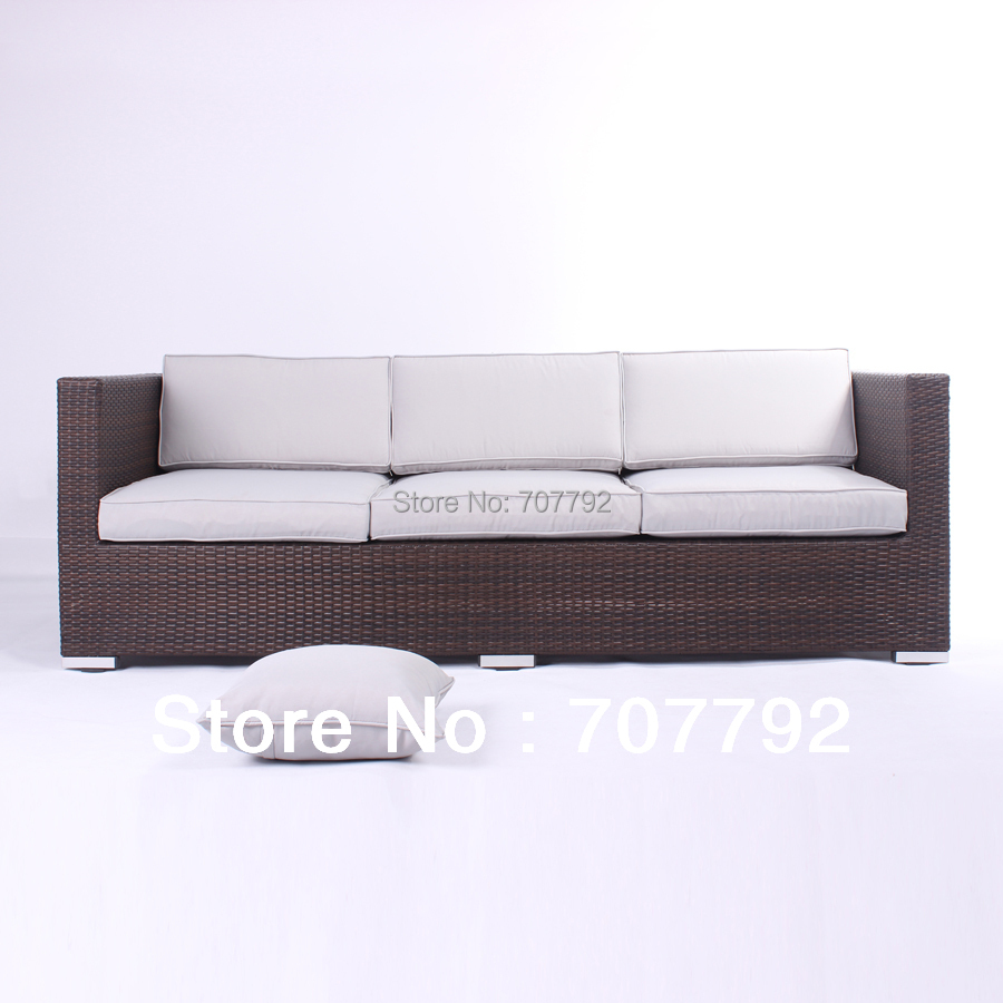 Rattan 3 Piece Sofa Us 312 55 5 Off 2014 Outdoor Furniture Breathing Environmental Sofa 3 Seater Rattan Sofa In Garden Sofas From Furniture On Aliexpress Alibaba