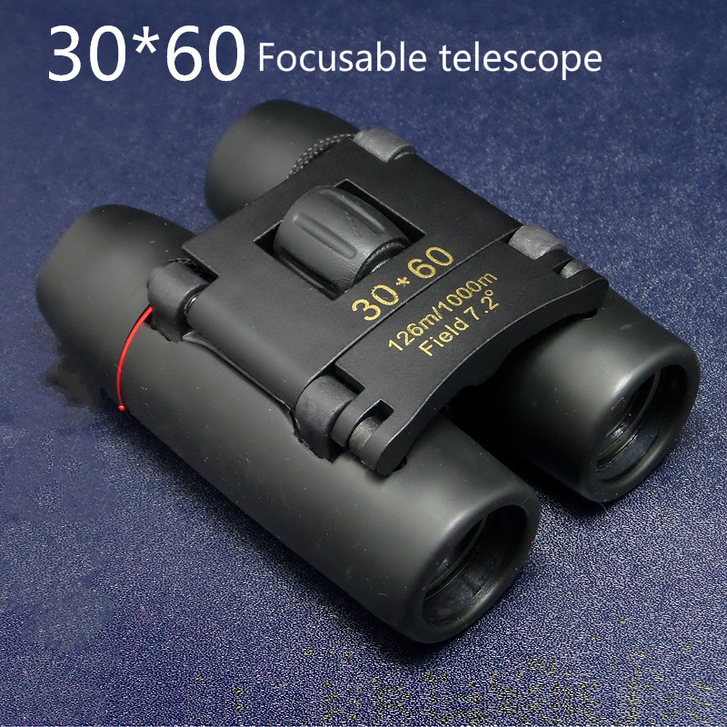 2018 New arrival 30x60 binoculars Zoom Field glasses Great Handheld Telescopes hunting HD Powerful binoculars hot