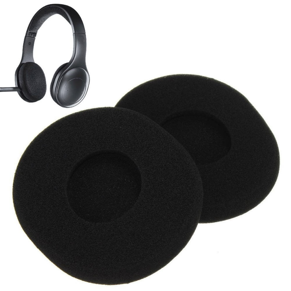 Black 50pairs Replacement Cushion Ear Pads Cushion For Logitech H800 Wireless Bluetooth Headset Earphone Accessories Aliexpress