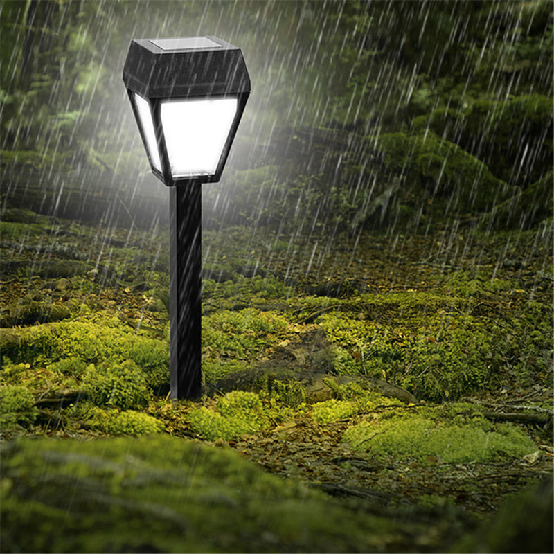 Super Bright Luz LED Solar Power Panel Inserted Lawn Lamp Outdoor Garden Motion Sensor Light Street Energy Saving Garland Decor