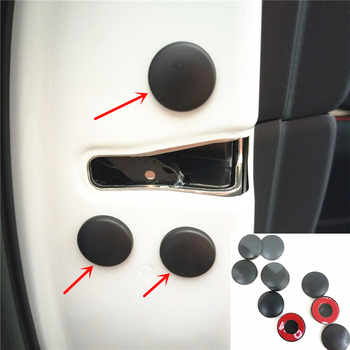 Car Door Lock Screw Protector Cover For Mazda 6 Atenza 3 Axela CX-9 CX-8 CX-7 CX-5 CX-4 CX-3 MX-5 image