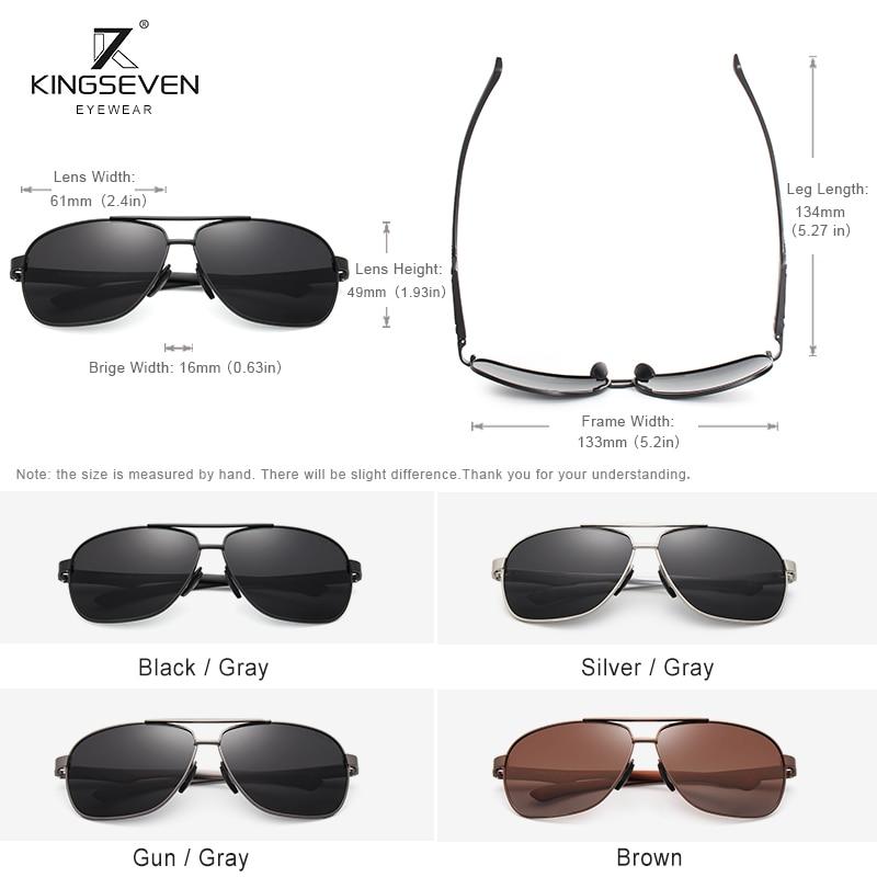 Men Women Aluminum Sunglasses Polarized UV400 Mirror Male Sun Glasses For Men Black