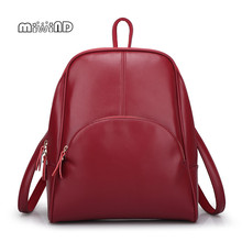 MIWIND Backpack Women Genuine Leather Bag Women Bag Cow Leather Women Backpack Mochila Feminina School Bags for Teenagers