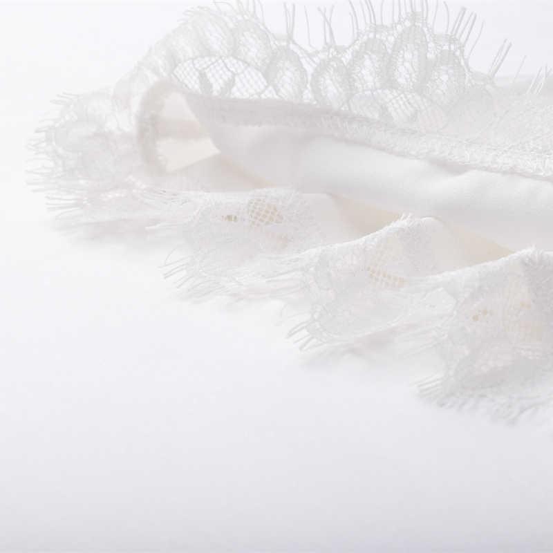 Estate Dal Carro Armato di Seta Top 2020 Donne Sexy Scollo A V di Base Magliette E Camicette Blusas Casual Delle Donne Della Maglia Del Merletto Canotta Crop Magliette E Camicette Plus formato Camicia Femminile