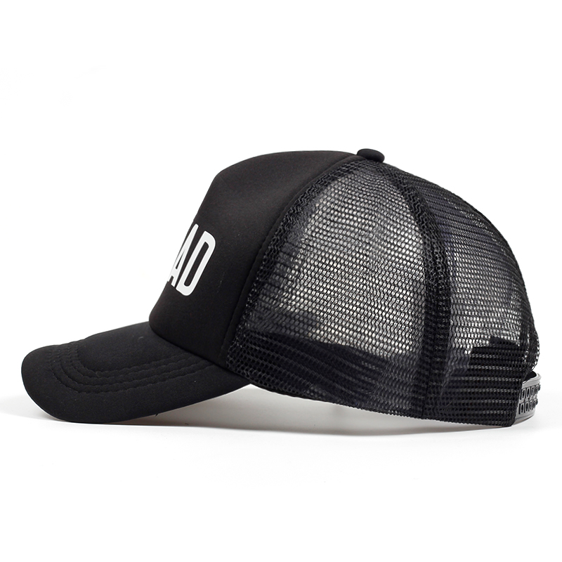 BRIDE SQUAD Hat Snapback Caps Hip Hop Branded Baseball Mesh Cap Wedding  Party Black Letter Adjustable Woman print golf Hats-in Baseball Caps from  Apparel ... 6f9f73877cfc