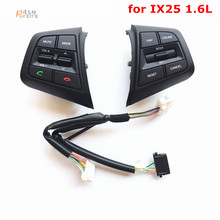 Multi-function Remote Control Buttons For Hyundai  ix25 1.6L Steering Wheel Cruise Control Buttons  car styling