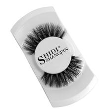 лучшая цена YSDO 1 pair 3d mink eyelashes fake eyelashes natural hair false eye makeup lashes dramatic thick lashes fluffy mink eyelashes