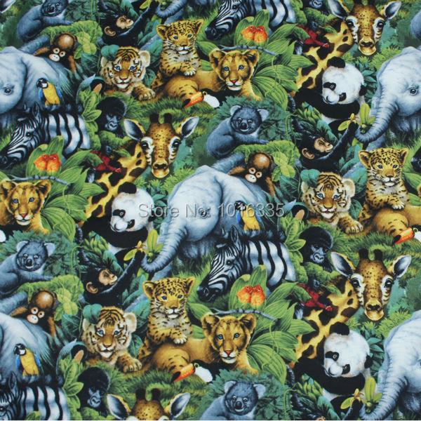 ღ Ƹ̵̡Ӝ̵̨̄Ʒ ღ110 cm Ancho de dibujos animados bosque animal ...
