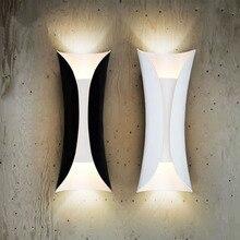 Искусство настенный светильник AC85-265V E27 * 2 H35cm * D13.5cm Современное освещение Дома крытое и напольное украшение свет Бесплатная доставка