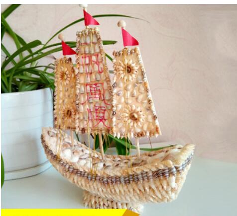 Dinosaur Shell crafts featured gifts sailboat decorations plain sailing creative home furnishings children Home