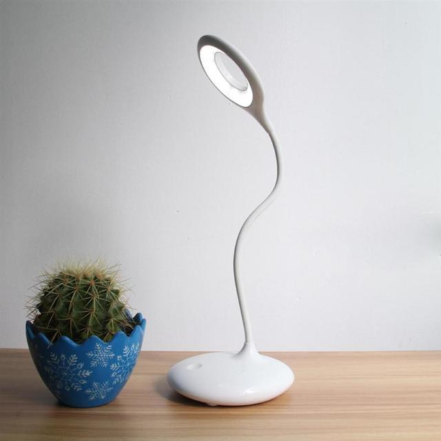 Touch-Sensitive Led Table Lamp USB Cahrging Book Desk Reading Light Night Light Eye-Care Dimmer LED Reading Lamp