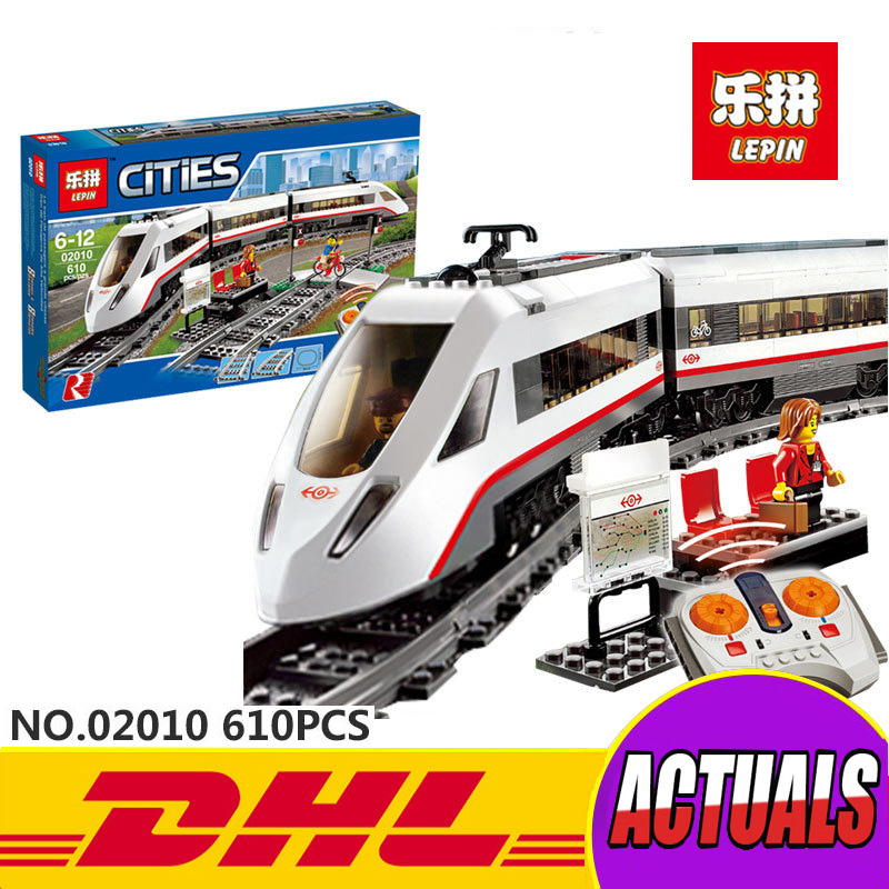 Lepin 02010 New Creator Series The High-speed Passenger Train Remote-control Trucks Set Building Blocks Bricks Funny Toys 60051 thea feldman macmillan factual readers level 1 baby animals