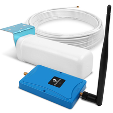 GSM 900MHz Cellular Signal Repeater 2G Mobile Phone Booster gsm Amplifier 2g Reperidor 70dBi with 2 antennas kit