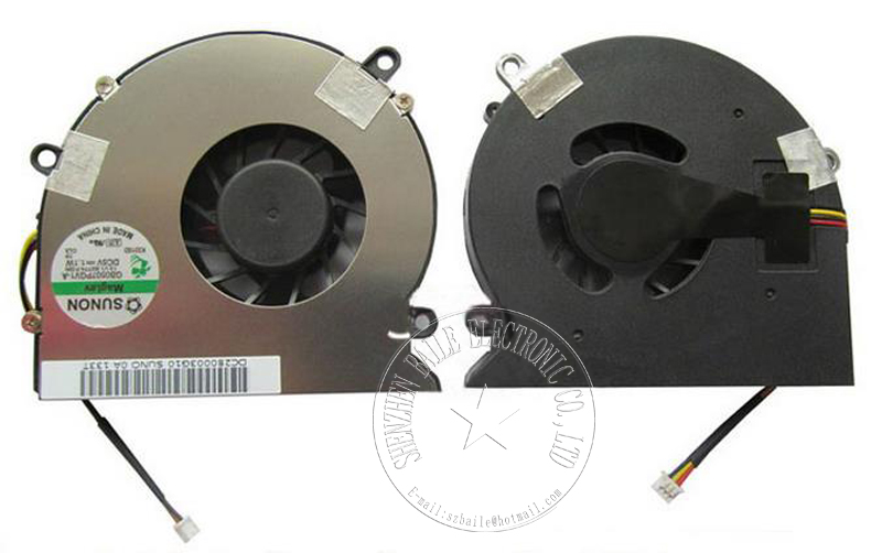 laptop fan for DELL inspiron 1425 1427 Vostro 1720 cpu fan, 100% NEW genuine 1427 notebook cpu cooling fan cooler good quality new original cpu cooling fan for dell v5460 v5470 inspiron 14 5439 vostro 14z 3526 laptop cooler radiator graphics card fan