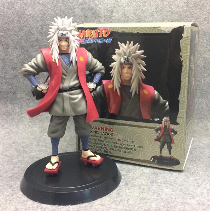 Anime Naruto Shippuden Jiraiya 1/8 scale painted figure Gama Sennin figure Toys