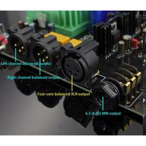 Image 5 - E600 tam dengeli giriş dengeli çıkış kulaklık amplifikatörü TPA6120 Ultra düşük gürültü JRC5532 Op amplifikatör kurulu
