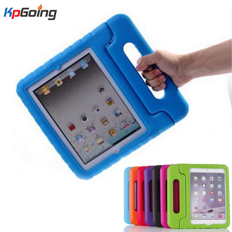 For iPad Mini 4 Kids Friendly Stand Shockproof Safe EVA Foam Full Protective Cover For Apple iPad Mini 4 Handle Tablet Case