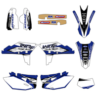 Motorcycle Graphics Stickers Decals For Yamaha WR450F WRF450 WRF 450 WR 450F 2012 2013 2014 2015 Motocross Dirt Bike