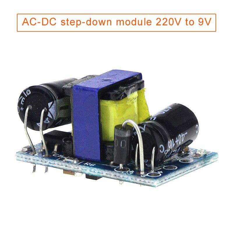 220V To 90V AC-DC Step-down Module Isolation Switch Power Supply 9v500mA EM88