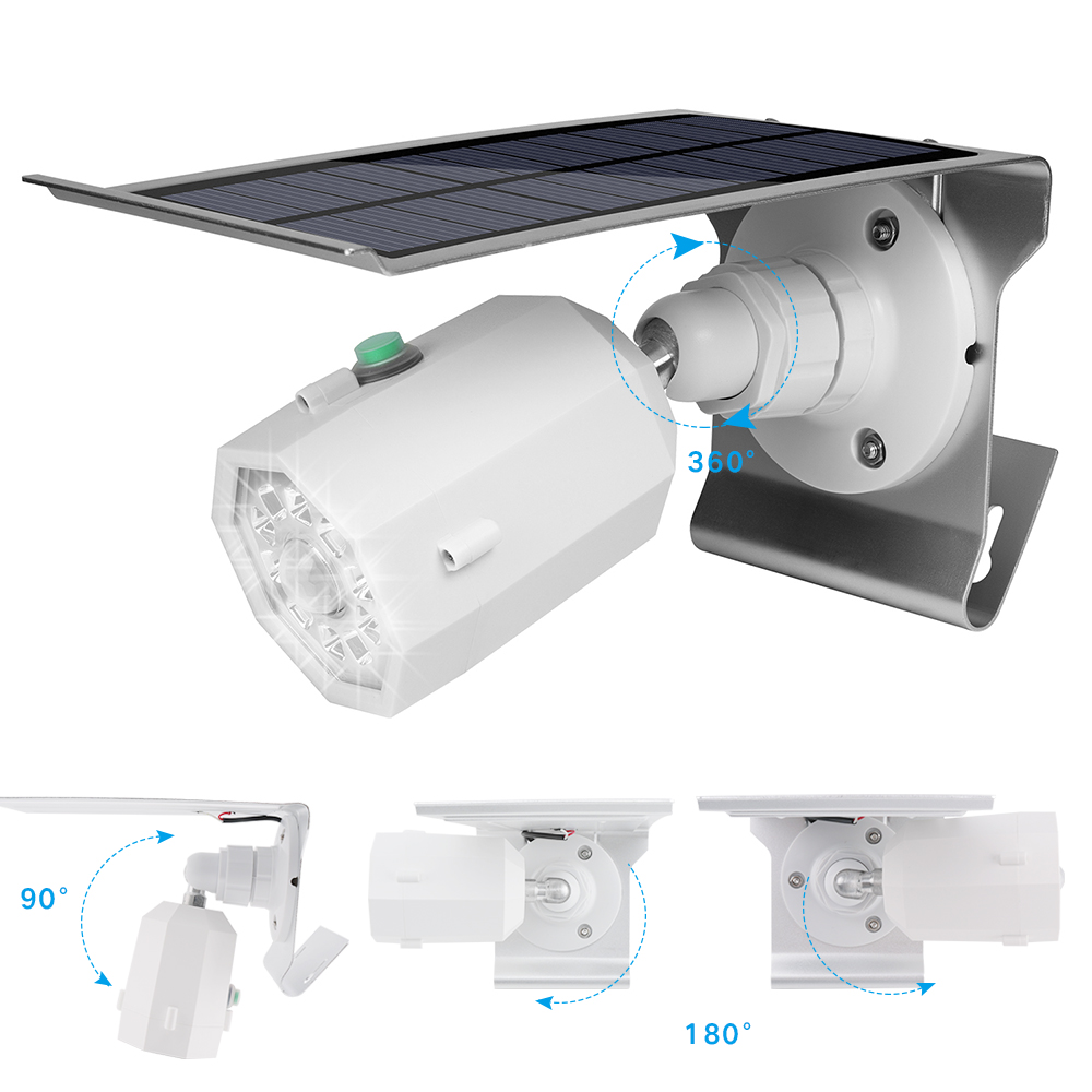 BORUiT Outdoor Wall Lamps Motion Sensor Solar Lamp Waterproof Garden Yard Porch Lights Pathway Street Light Home Emergency Light цена