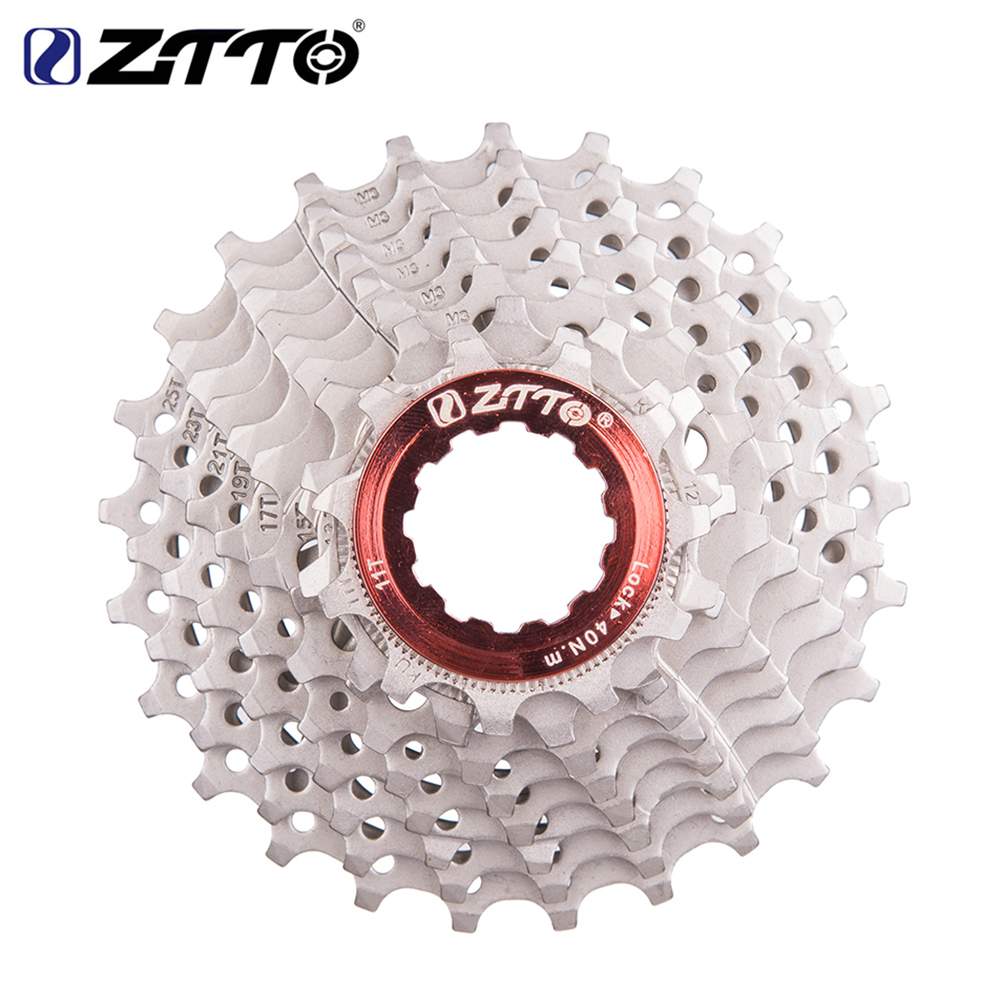 ZTTO Road Bicycle Cassette Freewheel 9 Speed Cassette 9s 11-25T/28T Bike Sprockets For Sunrace Shimano Sora 3300 3500 R300