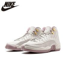 ebd7232704ba66 Original Authentic NIKE Air Jordan 12 Retro PREM HC GG Women s Basketball Shoes  Sneakers Sport Outdoor Athletic845028-025