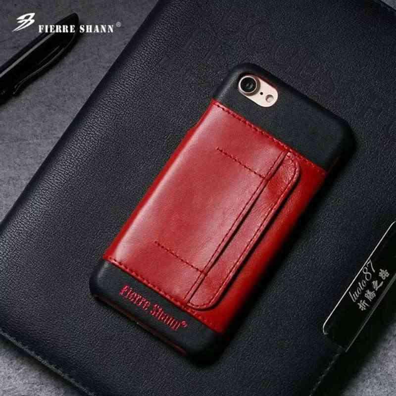 Чехол для iphone 7 8 plus apple Capa Funda Etui Роскошный кожаный чехол на заднюю панель мобильного телефона аксессуары Coque Shell carcasas слот для карт
