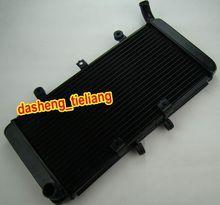 Radiador de Refrigeración de aluminio de La Motocicleta Para honda CB1300 2003 2004 2005 2006 2007 2008, Enfriador del motor Parts Accessories, negro