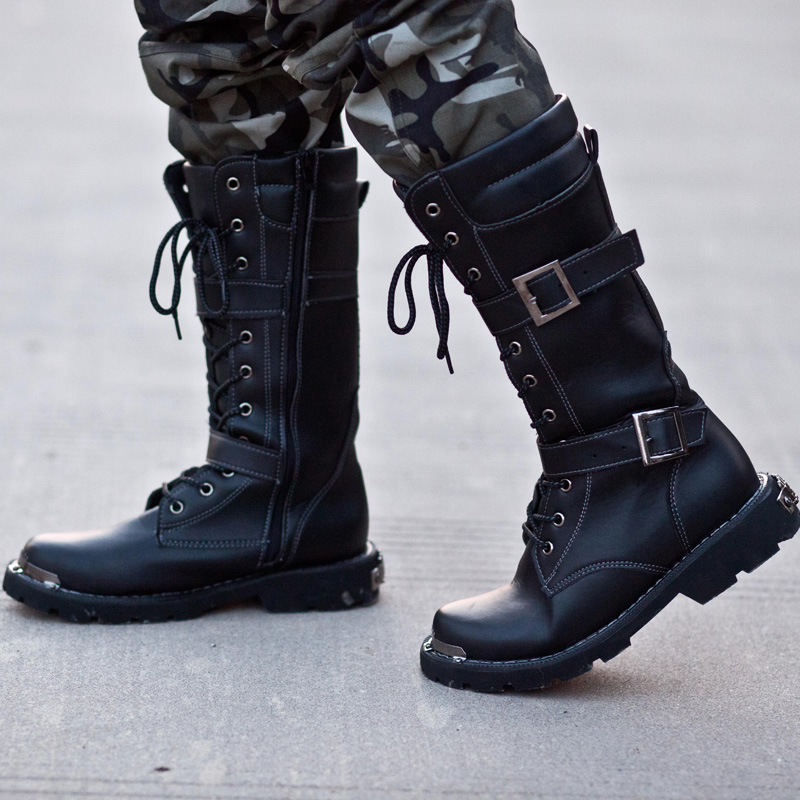 Popular Tall Men Boots-Buy Cheap Tall Men Boots lots from China ...
