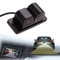 High Quality 2 In 1 Car Parking Sensors Rear View Backup Camera Universal High Clear Night
