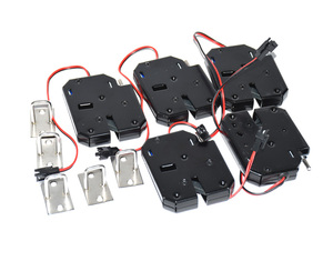 Image 2 - Verrouillage électrique anti vol et électromagnétique 12V cc