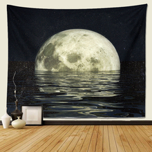 Moon Constellations Tapestry Wall Bohemian Hanging Tapestries Blanket Art  Beach Indian Decor