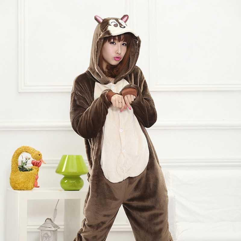 סנאי סרבל תינוקות פיג 'מה Kigurumi בעלי החיים Cosplay תלבושות ליל כל הקדושים משפחת פיג' מות נשים
