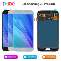 100Pcs/Lot Grade AAA+++ LCD For Samsung Galaxy J2 Pro 2018 J250 Display OEM Digitizer Touch Panel Assembly Replacement Free DHL