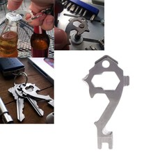 High Quality Mini Multi-tool Stainless Steel Carabiner Clip Camping Tool For Water