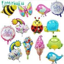 4pcs 20 type mini bear giraffe balloon Elephant butterfly balloons aluminum dolphin balloons 40 30 cm