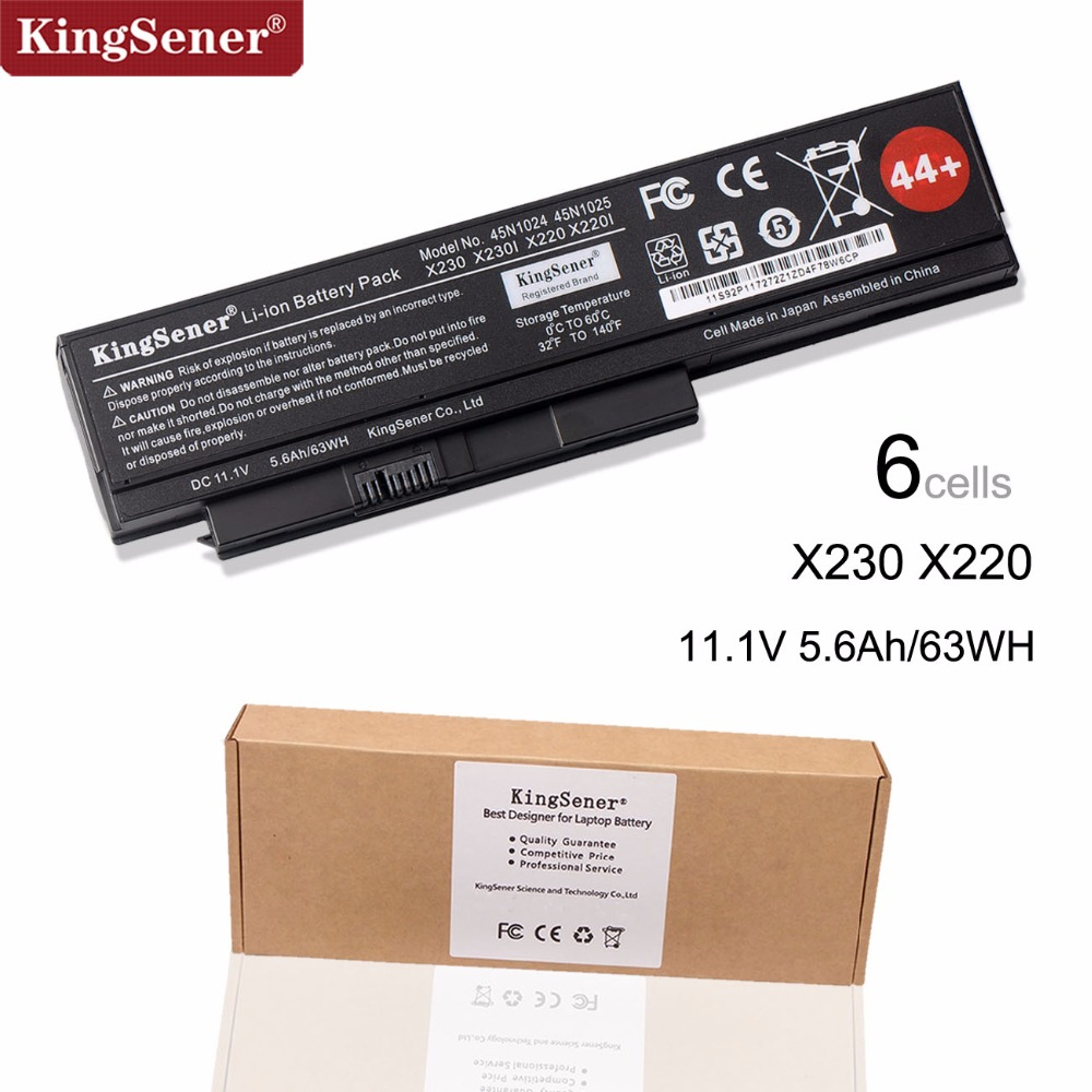 KingSener Japanese Cell  45N1025 Laptop Battery For Lenovo Thinkpad X230 X230i X220 X220I X220S 45N1024 45N1022 45N1029 45N1033KingSener Japanese Cell  45N1025 Laptop Battery For Lenovo Thinkpad X230 X230i X220 X220I X220S 45N1024 45N1022 45N1029 45N1033