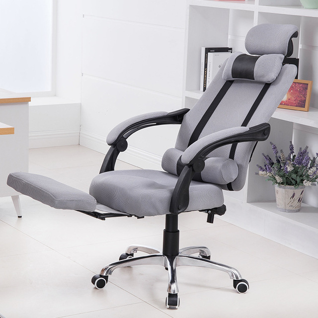 Office Chairs Furniture Commercial Lifting Can Lie Down 360 Rotation Functional Whole