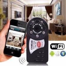Mini IP Wi-Fi Камара Ночного Видения DV DVR Беспроводные Камеры бренд Q7 Увидел Новые Видеокамеры Рекордер Espia Infrare Откровенный няня
