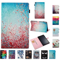 For Amazon Kindle Fire HD10 2017 Ultra Thin PU Leather Protective Skin Cover For Amazon Fire