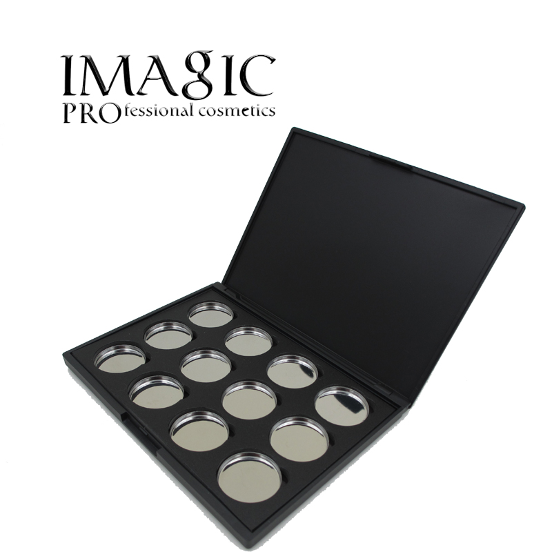 Professional makeup beauty tool palette eye shadow board makeup tool 12X Empty Magnetic Eyeshadow Removable
