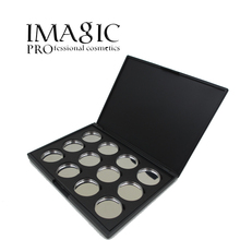 Professional makeup beauty tool palette eye shadow board makeup tool 12X Empty Magnetic Eyeshadow Removable Aluminum Palette