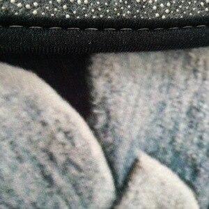 Image 4 - النمط الأوروبي ثلاثية الأبعاد ستيريو زهرة النبات جولة السجاد غرفة نوم باب غرفة المعيشة الكريستال المخملية سجادة ضد الإنزلاق كبير الحجم البساط floormat