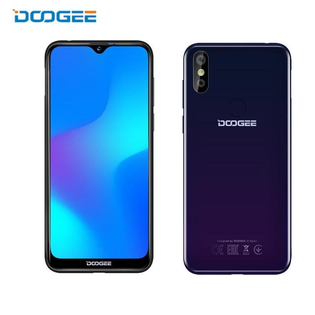 "original Doogee Y8 Smartphone 6.1""FHD 19:9 Display 3400mAh MTK6739 Quad Core 3GB RAM 16GB ROM Android 9.0 4G LTE Mobile Phone"