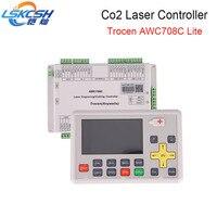 Lskcsh Лидер продаж 2018 AWC708C lite Co2 лазерный контроллер Co2 лазерной запасные части для Co2 лазерной резки оптовая продажа