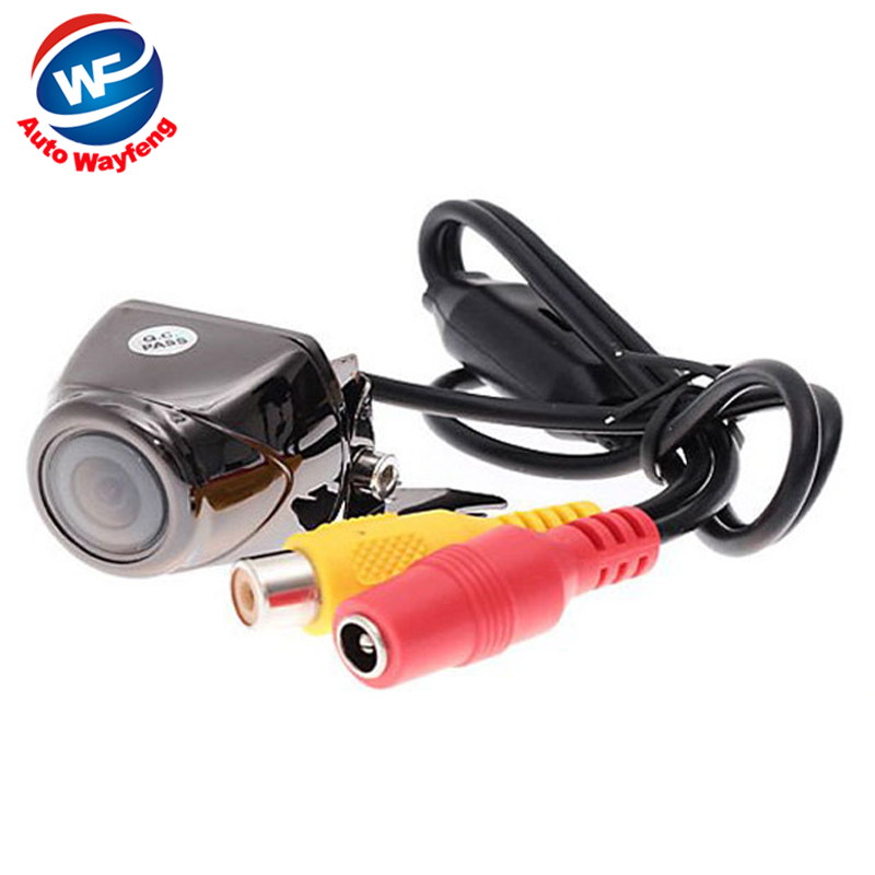 Factory Selling Car Rearview Camera 170 Degree Angle Night Color LED Sensor Car Rear Reverse View Parking Camera Free Shipping