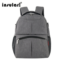 INSULAR Mother Bag Diaper Backpack Baby Nappy Bags Large Capacity Maternity Mummy Stroller bag New Fashion 2019 Hot