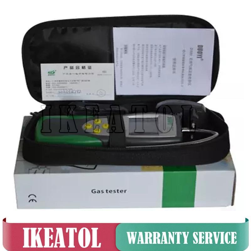 De Monoxyde De carbone CO Détecteur Compteur De Gaz DY881 0-1000ppm gamme Numérique Testeur De Gaz détecteur de fuite de gaz Analyseur De Gaz