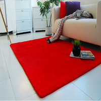 800mmx1500mmx45mm NEW Design Anti Skid Carpet Living Dining Bedroom Flokati Shaggy Ivory Wool Rug