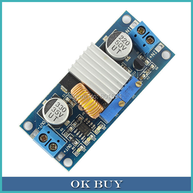 150W LIB Lithium Battery Charge Module 3 Indicator Constant Current/Voltage 5A 12V/24V Step-down (Buck) Regulator